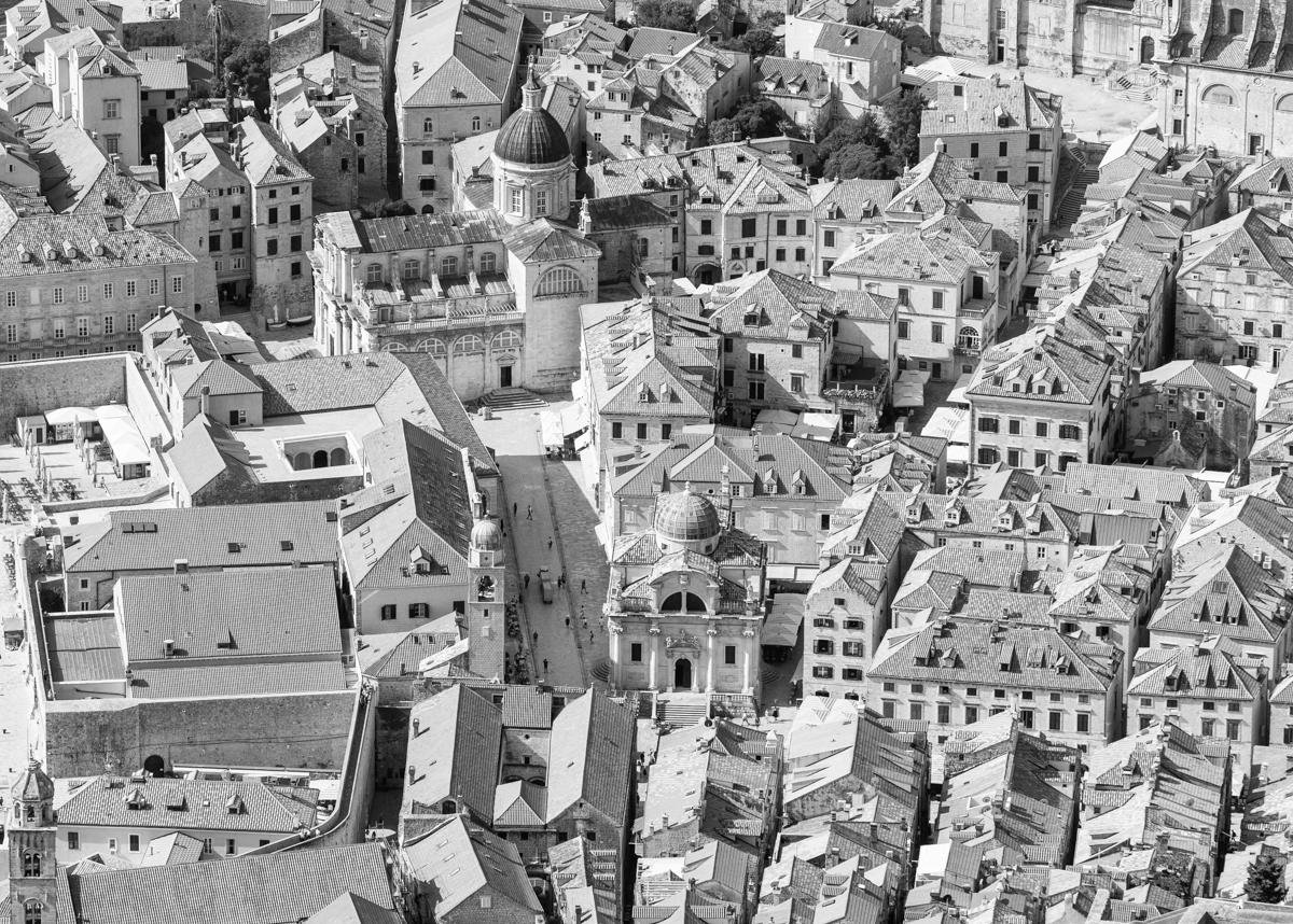 Gezicht op Dubrovnik, 2018